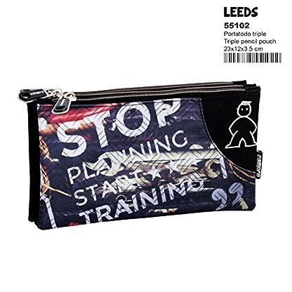 Montichelvo Campro Leeds – Estuche portatodo Triple (Perona 55102)
