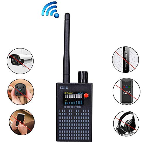 Hangang Anti-Spy Amplification Signal Detektor RF Spy Bug Kamera Wireless Detektor Frequenzscanner Sweeper GSM CDMA GPS Tracker Finder