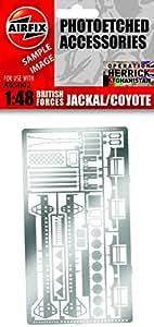 Airfix - AI65002 - Maquette - Kit de Photo-Découpe pour Jackal A05301 et Coyote A06302