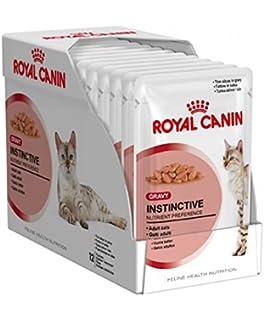 Royal Canin Adult Instinctive Gravy Wet Pouch 12 X 85g Amazon Co Uk Pet Supplies
