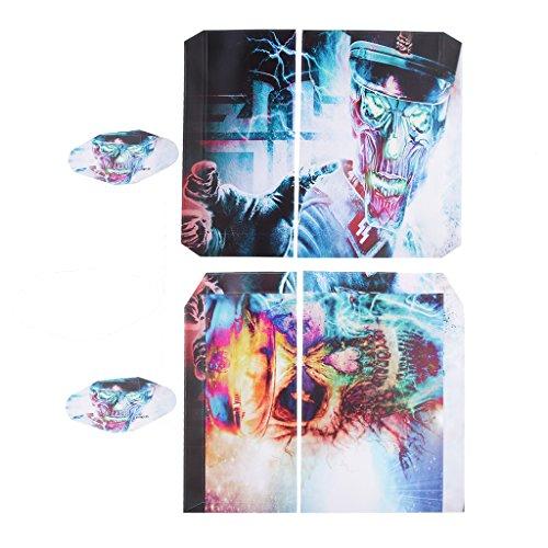 generic-adesivo-skin-decor-cover-set-per-ps4-playstation-4-console-controllore-cranio-colorato