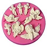 DIY Angel Baby stampo in silicone pirottini da cupcake che decora gli attrezzi