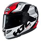 Casque moto HJC RPHA 11 NAXOS MC1, Noir/Blanc/Rouge, XL
