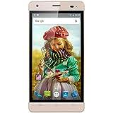 Cubot Echo Smartphone 3G Débloqué 5.0 Pouces IPS HD (Android 6.0 MT6580 Quad-Core 1.3GHz - Double SIM 2GB RAM+16GB ROM - 13.0MP Caméra arrière - 3000mAh Batterie/OTG/Hotknot/ Wifi/Bluetooth) - Doré