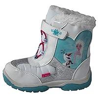 Disney Girls Frozen Snow Boots Rain Waterproof Elsa Olaf Winter Fur Princess New