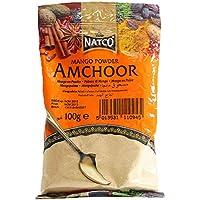 Natco Mango Powder - 10 Paquetes de 100 gr - Total: 1000 gr