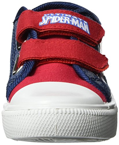 Spiderman Jungen Sp003233 Low-Top Blau (H.RED/Blue/Navy 640)