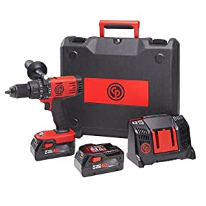 Bohrschrauber mit Schlagschrauber Chicago Pneumatic CP8548 + 2 Batterien 4,0 Ah