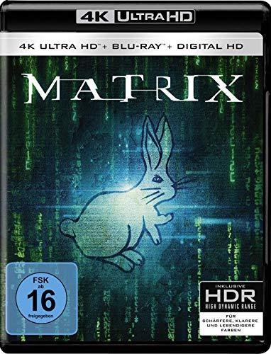 Bild von Matrix  (4K Ultra HD) (+ 2D-Blu-ray remastered) (+ Bonus-Blu-ray)