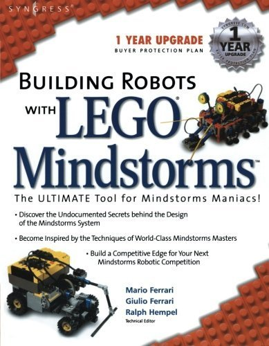 Building Robots With Lego Mindstorms : The Ultimate Tool for Mindstorms Maniacs by Ferrari, Mario, Ferrari, Giulio, Hempel, Ralph (2002) Paperback