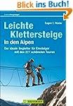 Leichte Klettersteige in den Alpen: D...