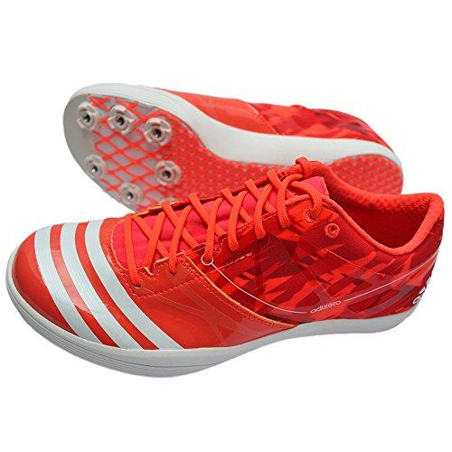 Adidas Adizero LJ 2 WC Schuhe Leichtathletik Unisex incl Spikes Rot