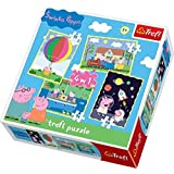 Trefl 916 34131 4-in-1 Peppa Pig Puzzle