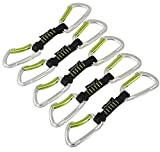 Edelrid Express Slash Set VPE 5, Night/Oasis, 10 cm, 720120102190
