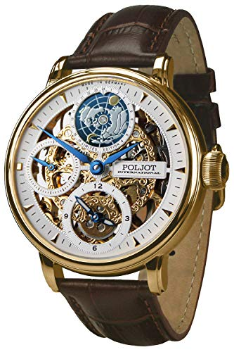 Poljot International Herren-Armbanduhr Double Timer Globetrotter 9730.2940651