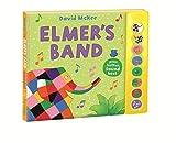 Best Toddler Boy Books - Elmer's Band: A Press-Button Sound Book Review
