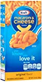 Kraft Macaroni and Cheese Dinner Original Flavour, 206 g