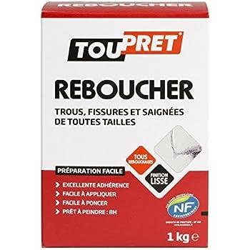Toupret  Enduit De Rebouchage Extrieur Fibre Rx  Kg Amazon