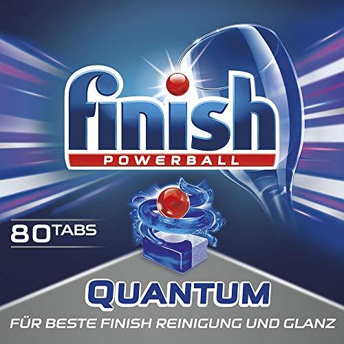 Finish Quantum, Spülmaschinentabs, Sparpack, 80 Tabs