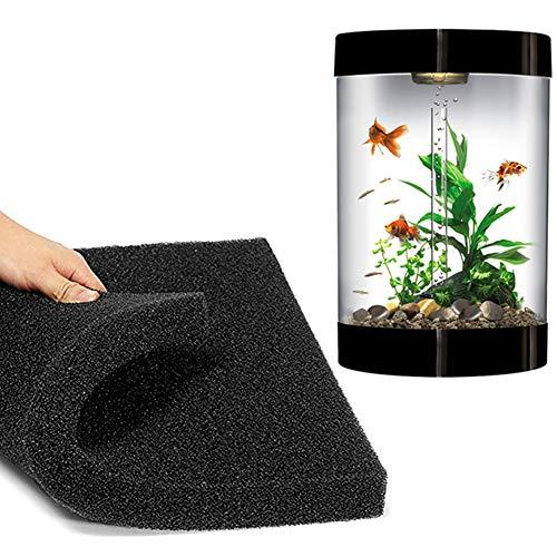 5cm Aquarium-FilterSchwamm biochemischen Baumwoll Filter Schaum Fisch Tank Schwamm-schwarz -