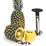 Lucky Box Home Appliances Heavy Stainless Steel Fruit Pineapple Corer Slicer Peeler Kitchen Cutter Knife