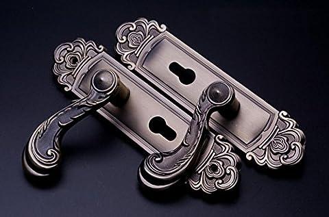 Poignée Intérieure Européenne Application De Porte En Bronze Intérieur Des