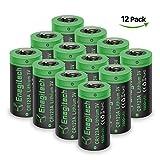 Batteriol CR123A Lithium Batterie Akku 3V 1600mAh Fotobatterie Nicht Wiederaufladbare für Taschenlampe, Kamera, Camcorder, Spielzeug Fernbedienung, Nicht für Arlo Camera, 12-er Pack