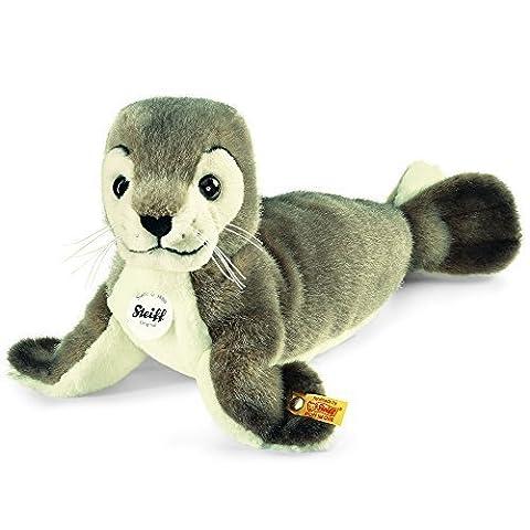 Steiff Robby Seal Plush Toy (Grey/White) by Steiff