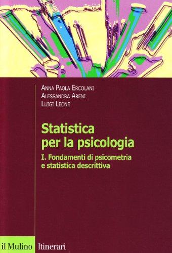 Statistica per la psicologia: 1