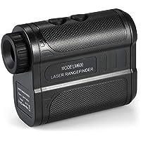 KKmoon Entfernungsmesser, Golf Rangefinder, mit 6 Facher Vergrößerung, IP54 Wasserdicht, Geschwindigkeitsmessung 300km/h, für Golf/Jagd/Ingenieurwesen Vermessung/Bau/Wandern