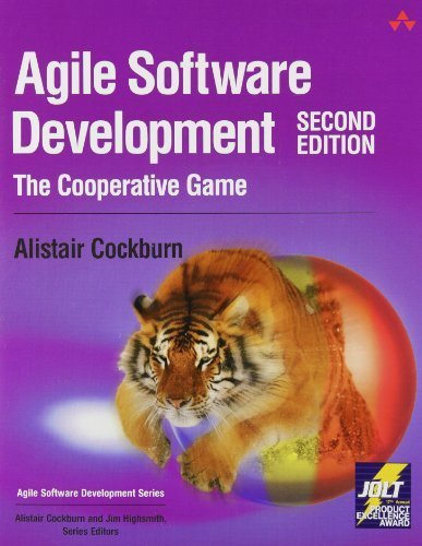 Agile Software Development: The Cooperative Game by Cockburn, Alistair (2006) Paperback
