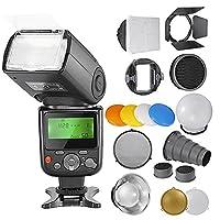 NeewerŽ PRO NW670 E-TTL Photo Flash Kit for CANON Rebel T5i T4i T3i T3 T2i T1i XSi XTi SL1, EOS 700D 650D 600D 1100D 550D 500D 450D 400D 100D 300D 60D 70D DSLR Cameras, Canon EOS M Compact Cameras, Includes:(1)NW670 ETTL Flash For Canon +Speedlite Flash