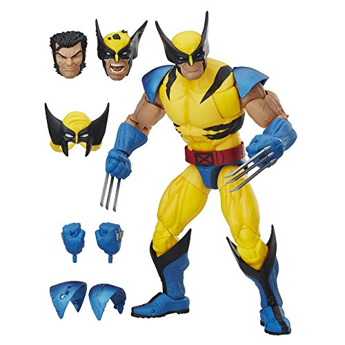 Marvel Avengers E0493 Legend Figur Wolverine Collector 30 cm