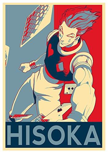 "Poster Hunter X Hunter ""Propaganda"" Hisoka (variant) - A3 (42x30 cm)"
