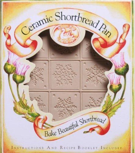 Brown Bag Snowflake Shortbread Cookie Pan by Emerson Creek Pottery Brown Bag Shortbread Pan