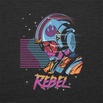 Texlab – Rebel Wave – sacchetto di stoffa Nero