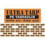 UltraTarp PE Tarpaulin Virgin UV Treated 150 GSM Yellow (12 ft x 18 ft)