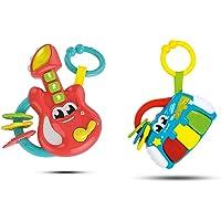 Clementoni Baby Gitar, Sonaglino Elettronico Chitarra, Giocattolo, Multicolore, 17220 & Sonaglino Elettronico Baby…