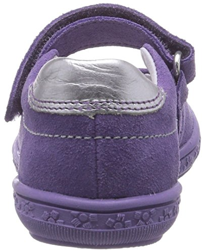 Richter Kinderschuhe Dandi 3010-521 Mädchen Geschlossene Ballerinas Violett (lavender/silver  4000)