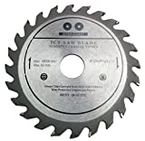 125 mm 24 Zähne Kreissägeblatt Top Qualität Sägeblatt für Winkelschleifer für Holz Trennscheiben Kreissägeblatt 125 x 22 x 24Z