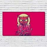 zxddzl Wandkunst Poster abstrakte Persönlichkeit Flügel