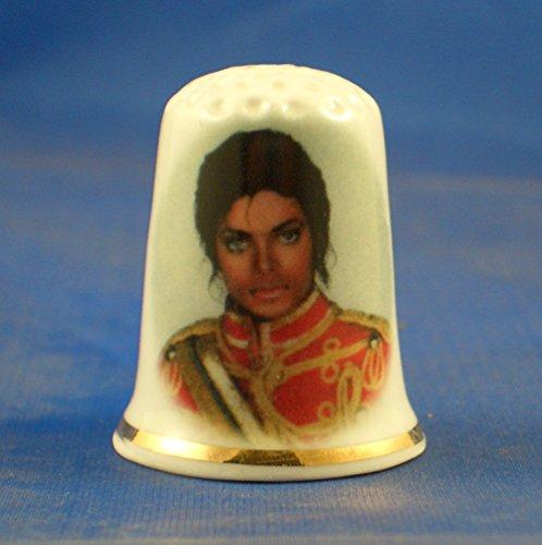 birchcroft Porzellan China zum Sammeln Fingerhut–Michael Jackson