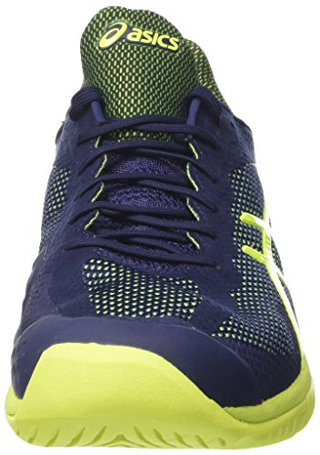 Chaussures ASICS Homme Court FF All Court Bleu / Jaune PE 2017 Bleu (Indigo Blue/safety Yellow)