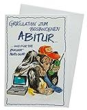 Glückwunschkarte Grußkarte Abitur 63-1066