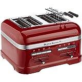 KitchenAid 5KMT4205EER - Tostador (2500, -, 50 - 60 Hz, 220 - 240V, 34,8 cm, 30,4 cm, 20,5 cm) Rojo