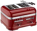 Kitchenaid 5KMT4205EER Artisan -Toaster für 4 Scheiben, rot