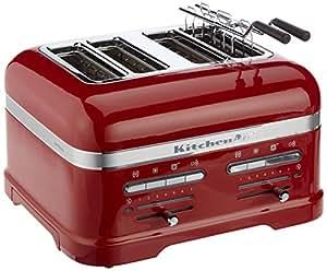 KitchenAid 5KMT4205EER 4slice(s) 2500, -W Red toaster - toasters ...