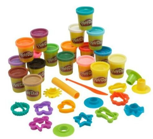 Play-Doh Super Rainbow Sparpack.
