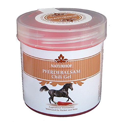 Pferdebalsam Chili Gel 3 x 250ml Pferdegel Pferdesalbe Muskeln Entspannung Creme