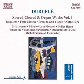 4 Motets sur des themes gregoriens, Op. 10: I. Ubi caritas